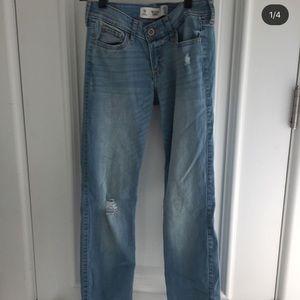 light washed hollister jeans